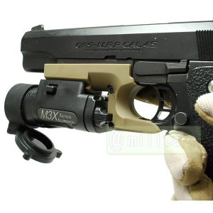 M3X タイプ ウェポン ライト ピストル タイプ BK|geelyy|03