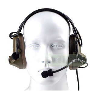 Comtac 2 タイプ ヘッドセット 第3世代モデル 【ICOM対応】 PTT デバイス付 geelyy
