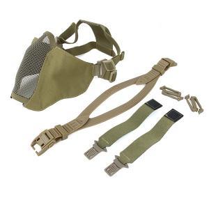 TMC PDW ソフト サイド 2.0 メッシュマスク (ヘルメット取付け用ベルト付属) カーキ|geelyy