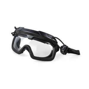 TMC SF QD Goggle  ヘルメットレール 取り付け型 ゴーグル ブラック|geelyy