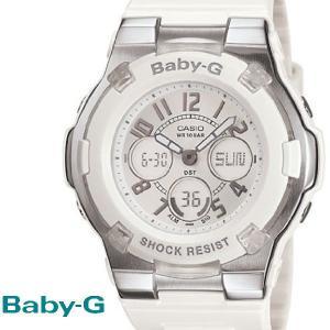 CASIO BABY-G カシオ ベビーG G−ライド 腕時計 うでどけい レディース LADIE'S ホワイト 白 BGA-110-7B