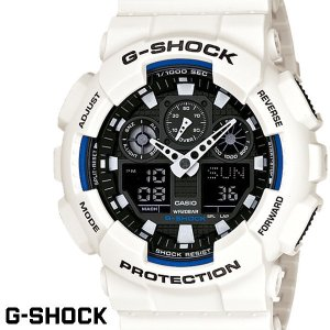 G-SHOCK GA-100B-7 白 腕時計 G−SHOC...