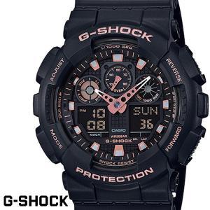 G-SHOCK カシオ Gショック GA-100GBX-1A4 ブラック ローズゴールド CASIO...