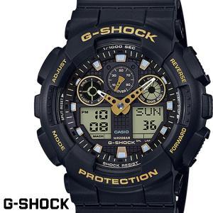 G-SHOCK カシオ Gショック GA-100GBX-1A9 ブラック ゴールド CASIO G−SHOCK ジーショック 腕時計 アナデジ うでどけい