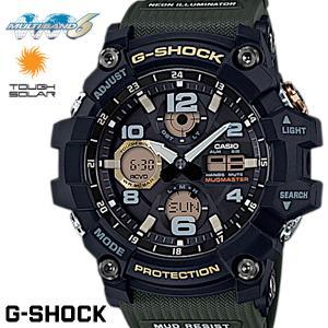 G-SHOCK Gショック ジーショック MUDMASTER マッドマスター 腕時計 メンズ GWG-100-1A3 ブラック カーキ