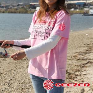 GEEZER 毎日釣りTシャツ ピンク|geezer