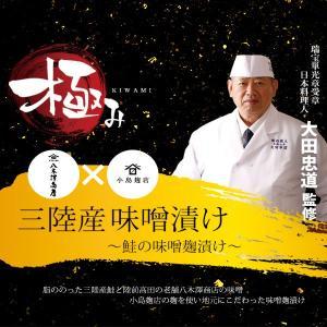 三陸鮭の味噌麹漬け 切り身/さけ/サケ(ビッグアップル)|gei-iwatemeisan