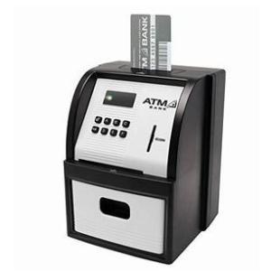送料無料 KTAT-001 ATMセキュリティーバンク ブラック KTAT-001B ライソン 貯金...