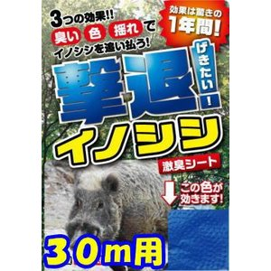 プラスリブ  撃退!イノシシ 30個入|gekitai-factory