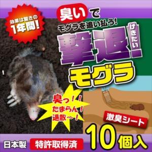 プラスリブ  撃退!モグラ 10個入   |gekitai-factory