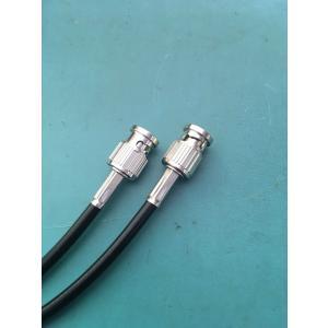 送料一律¥249(税別)!!BNCケーブル 3m 1本 2.5C-2V・S(撚り線)黒 両端BNCP付 ゆうメール便ご利用で!日本全国どこでも!!8302-3B|gekiyasu-cable