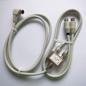 送料249円(税別)!!入力ケーブル2m付分波器 1ヶ 出力ケーブル0.5m プッシュコネクタ付  ゆうメール便配送で!日本全国どこでも!CB-1P2L|gekiyasu-cable