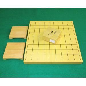 新品●駒台付 将棋セット 新榧 1寸卓上将棋盤 ...の商品画像
