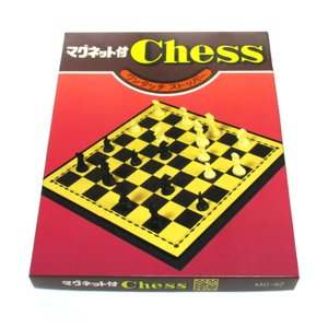 チェス セット マグネット  折り畳み式  チェス盤 19x19x1.5cm