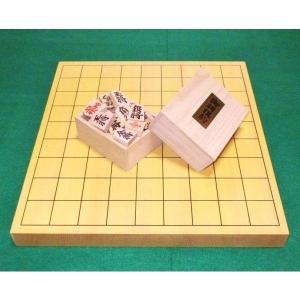 将棋セット 新榧 1寸 卓上将棋盤  木製将棋駒|gekiyasu342