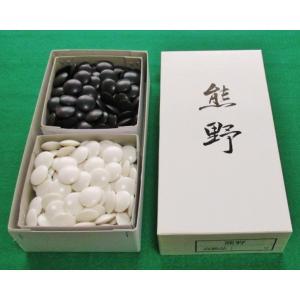 囲碁 セット  ●碁石 熊野(ユリア樹脂)7.5mm厚  最高級品 gekiyasu342