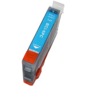 キャノン インク 激安 BCI-6ePC フォトシアン 単品...