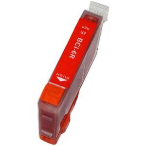 キャノン インク 激安 BCI-6eR レッド 単品 Can...