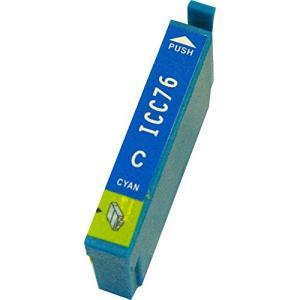 エプソン インク 激安 ICC76 シアン 単品 EPSON...