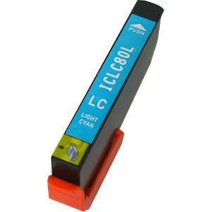 エプソン インク 激安 ICLC80L ライトシアン 単品 ...