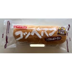 【ヤマザキ】 コッペパン(つぶあん&マーガリン) 1袋