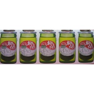 チョーヤ梅酒 ピオ ×5本 チョーヤ 梅酒 リキュール pio