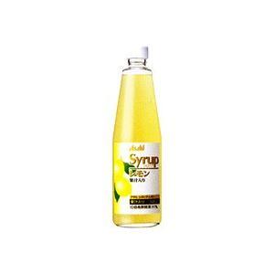 アサヒシロップ レモン 600ml瓶 ×6本 サワー用シロップ  規格:600ml/瓶