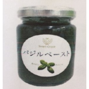 無農薬 バジルペースト ×1ケース 20個入り   内容量:140ml/瓶  原材料:オリーブオイル...