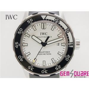 IWC アクアタイマー 男 腕時計 2000M防水 白文字 ...
