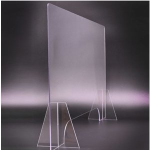 「当日発送」キャンペーン中飛沫防止用高透明アクリル仕切り板W900×H600mm厚さ5mm業務用/大...