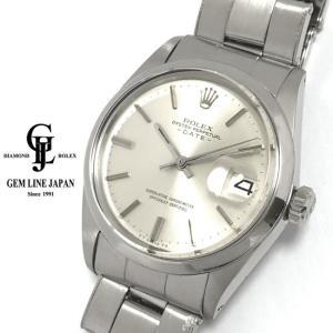 ロレックス オイスター パーペチュアル デイト 1500 リベットブレス 自動巻き メンズ 腕時計