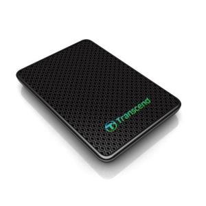 Transcend 外付けSSD 128GB USB3.0 MLC TS128GESD400K|gemselect