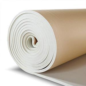 SDOFF 吸音材防音材防音シート 遮音シート壁 5M 大面積 85cm×500cm 裏面が粘着テープ付きなのでカットして簡単貼り付け (5M, ベー gemselect