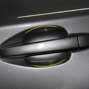 ジャガー用ドアハンドルプロテクター ドアノブ傷防止フィルム 5個セット ドアノブ引っかき傷保護フィルム (5枚セット)ジャガー XJ/XF/XE/Eペ|gemselect