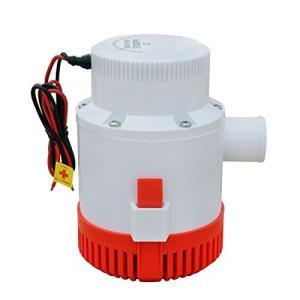 NUZAMAS ビルジポンプ 12V 小型 水中 ポンプ 3700GPH 適応 ホース 内径 40 mm gemselect