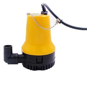NUZAMAS 12V DC 専用ポンプ 小型水中ポンプ 海水などのくみ上げ 排水 最大吐出量70リットル/分|gemselect