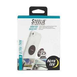 Nite Ize Steelie Orbiter ダッシュマウントキット ? 磁気携帯電話ホルダー 車のダッシュボード用 薄型 マグネットなし|gemselect