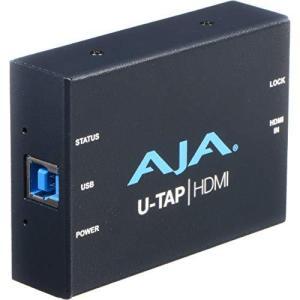 AJA(アジャ) U-TAP HDMI シンプル USB 3.0電源 HDMIキャプチャー|gemselect