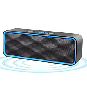 NETVIP Bluetooth4.2ポータブルスピーカー ワイヤレススピーカー Bluetooth speaker AUX接続 microSDカード|gemselect