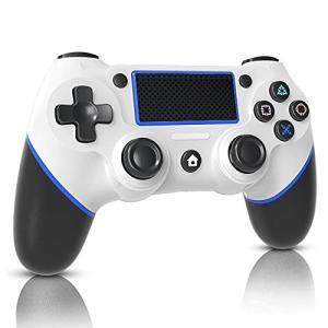 PS4 コントローラー ワイヤレス 「2021年NEWモデル」 リンク遅延なし Bluetooth接続 600mAh大容量 高耐久ボタン 二重振動 ジ|gemselect
