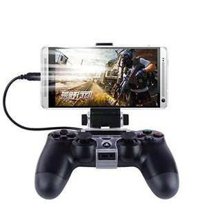 PS4 コントローラー スマホホルダー WISH SUN 荒野行動 Android マウントホルダー 固定 ゲーム クリップ スマホ固定ホルダー|gemselect