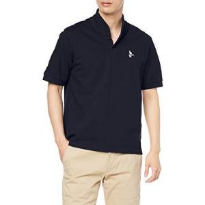 [チャムス] シャツ Booby Shawl Polo Shirt メンズ Navy S gemselect