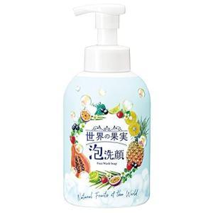 世界の果実 すっきり泡洗顔 清浄成分パパイン(酵素)配合 洗顔料 無香料 無着色 大容量 500mL gemselect