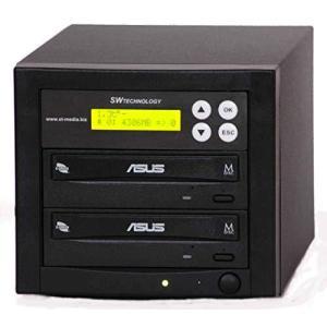 ■SW社製 1対1 DVD・CDデュプリケーター■日本語表示■ASUS Dv使用■DUP-SWDVD11ASU-24|gemselect