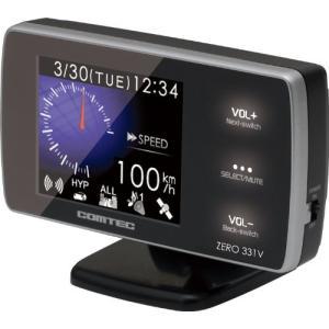 コムテック(COMTEC) 超高感GPSアンテナ内蔵レーダー探知機 ZERO 331V|gemselect