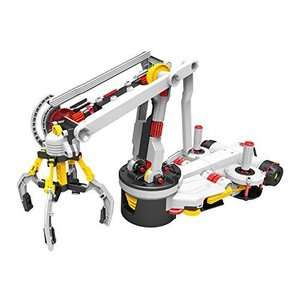 エレキット ロボット工作キット メカクリッパー ジョイスティックで操作するロボットアーム MR-9113 gemselect