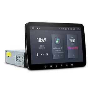 カーナビ 1din XTRONS Android10.0 車載PC 10.1インチ 大画面 HDMI出力 カーオーディオ 6コア  (DQ102L)|gemselect