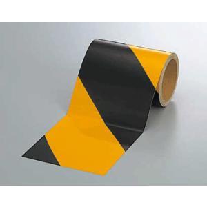 反射トラテープ 374-07 150mm巾×10m巻 genba-anzen