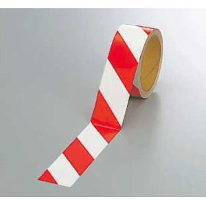 反射トラテープ 374-11 45mm巾×10m巻 赤白 genba-anzen