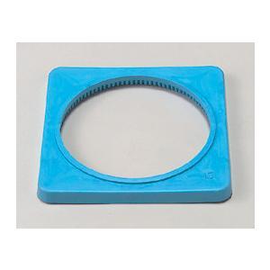 カラーコーン用ウェイト385−44 青色 1.5kg|genba-anzen